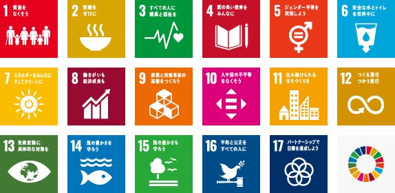 SDGs 目標詳細アイコン